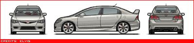Japanese Cars Newcivicsedantyper