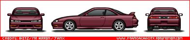 Japanese Cars S14fl