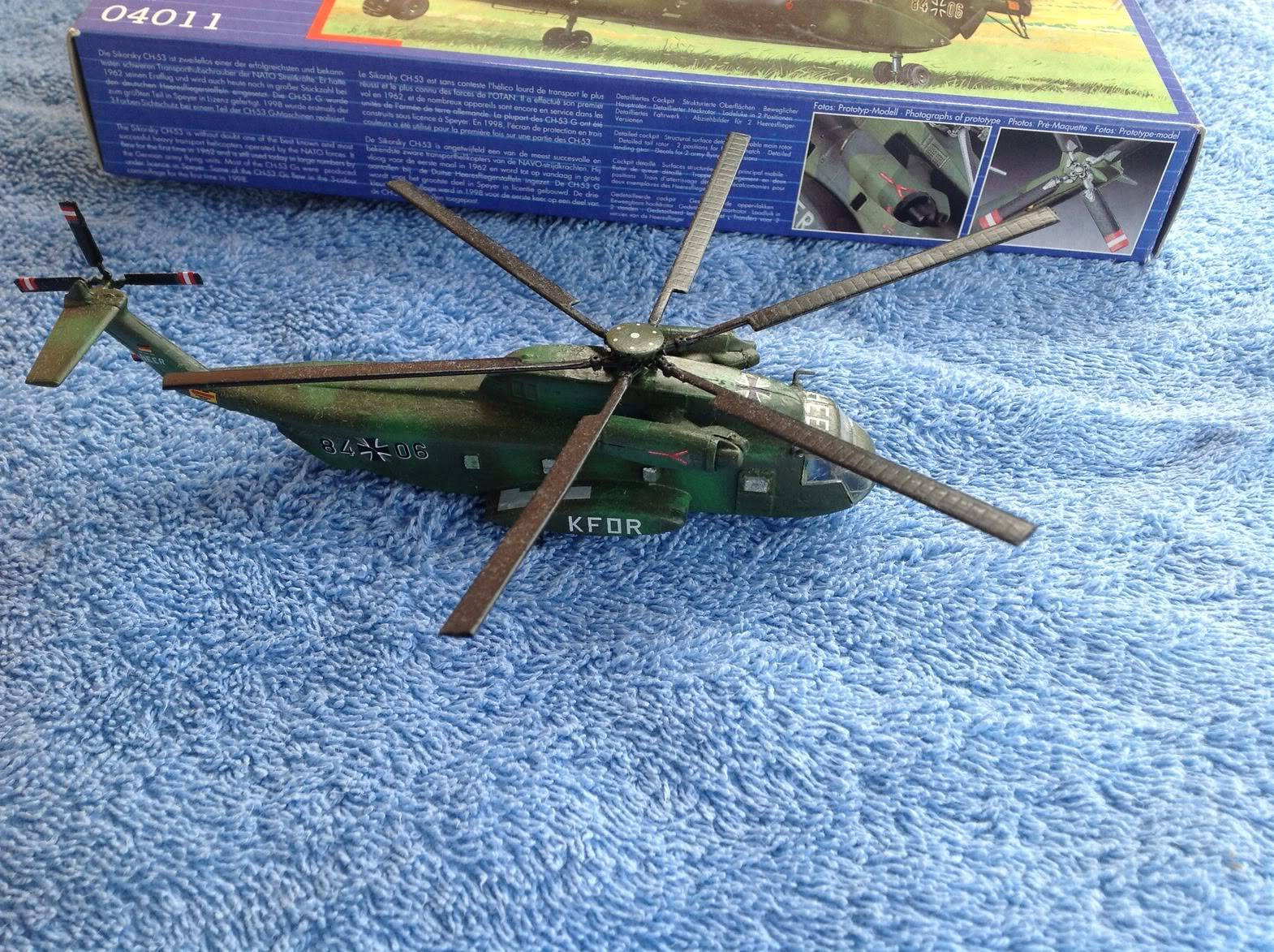 sikorsky CH-53G   revell   1:144 031-3