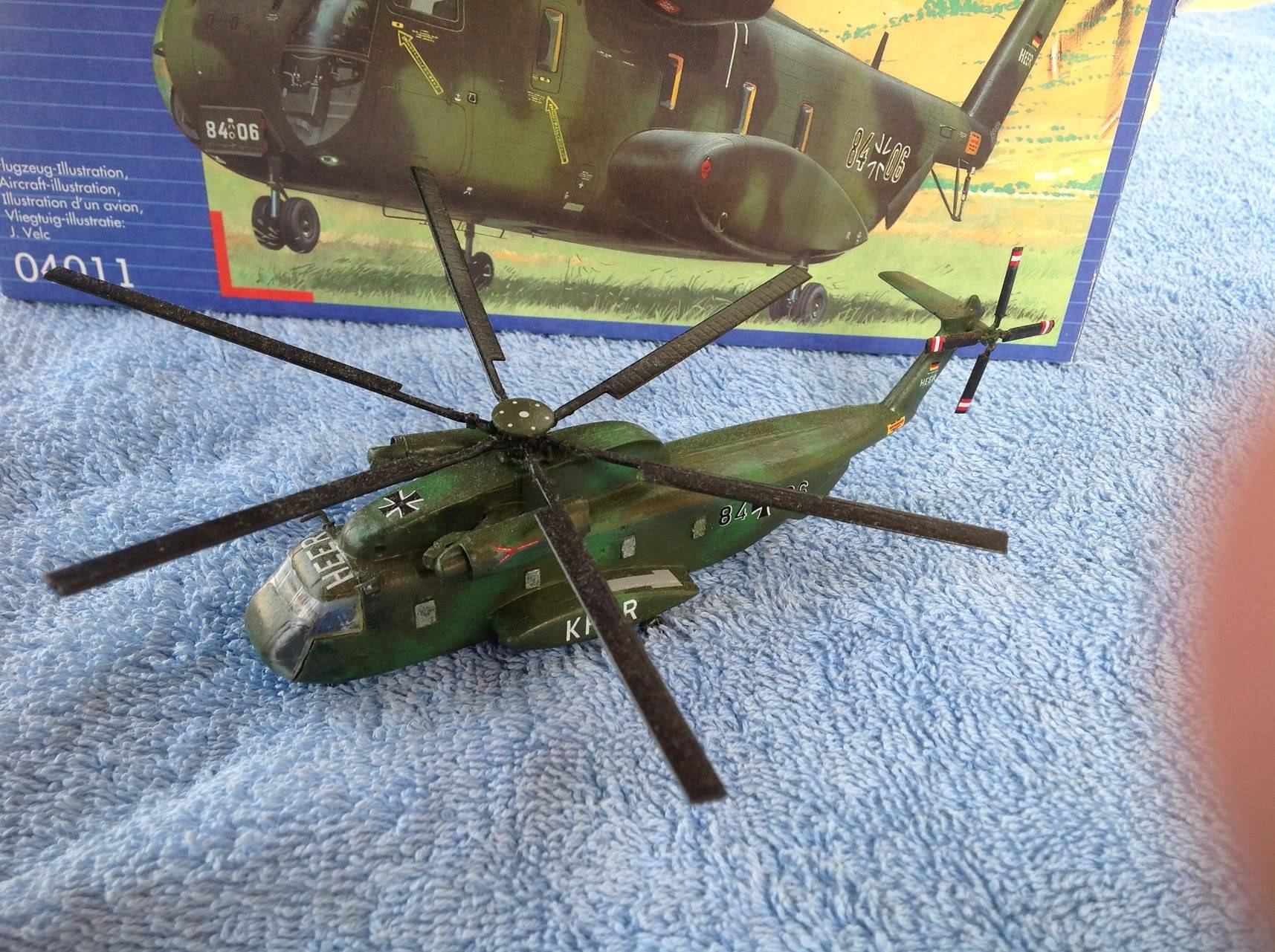 sikorsky CH-53G   revell   1:144 032-4