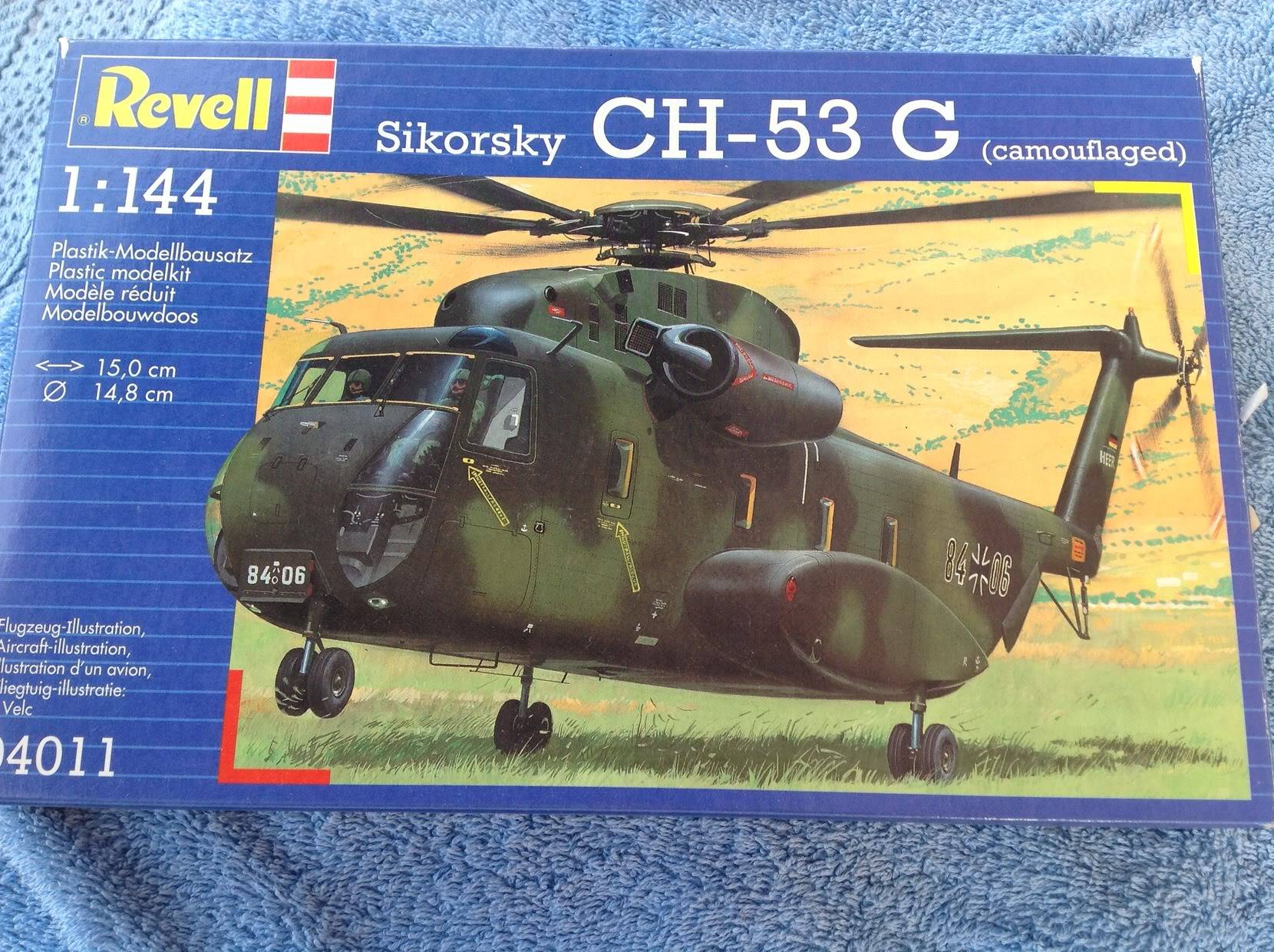 sikorsky CH-53G   revell   1:144 034-3