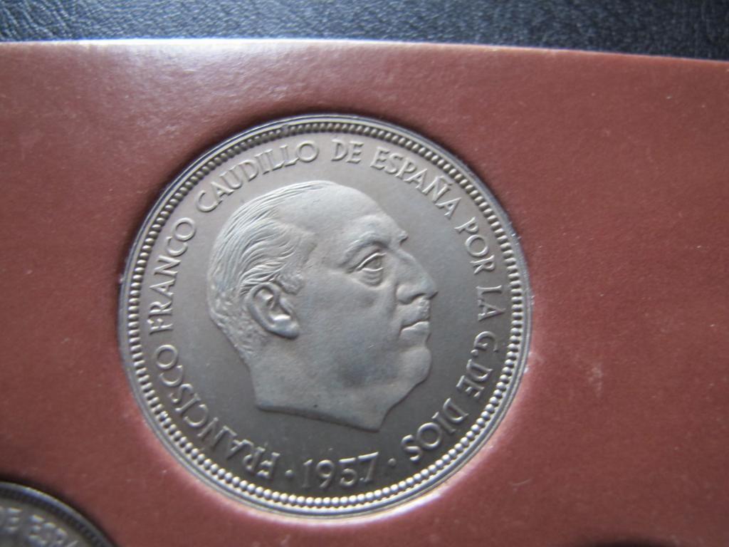 50 pesetas 1957 *75. Estado español. PROOF. IMG_0377_zps5a6c38a7