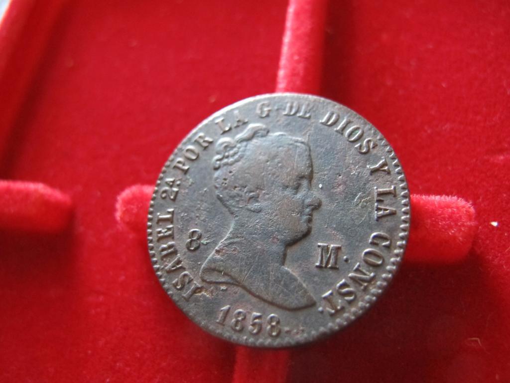 8 Maravedís 1858. Isabel II. Barcelona IMG_0561_zps59792215