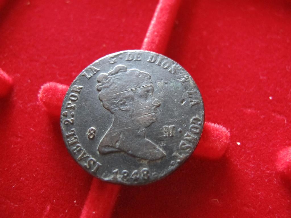 8 Maravedís 1848. Isabel II. Segovia. IMG_0565_zps29779ffb