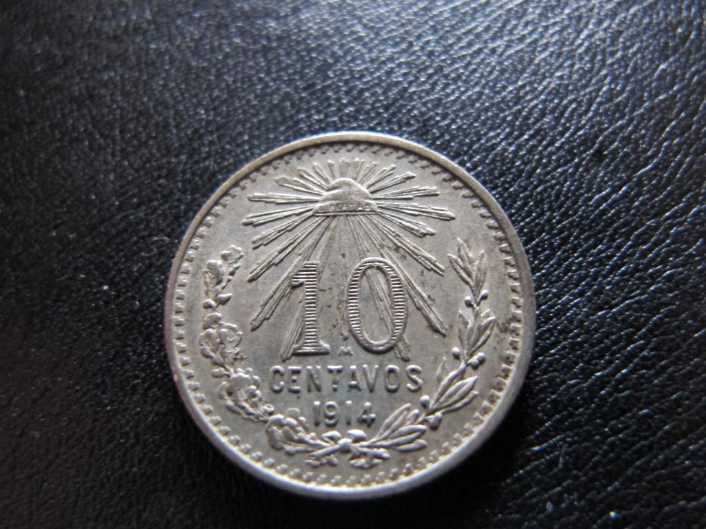 10 Centavos 1914. Estados Unidos Mexicanos. IMG_0588_zps168bc608