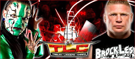 Carte du WEW TLC 2012.  Jeffvslesnartlc12