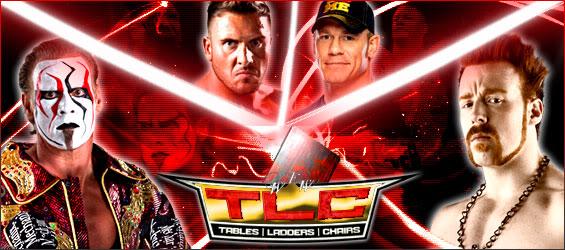 Carte du WEW TLC 2012.  Stingvsterryvscenavssheamus
