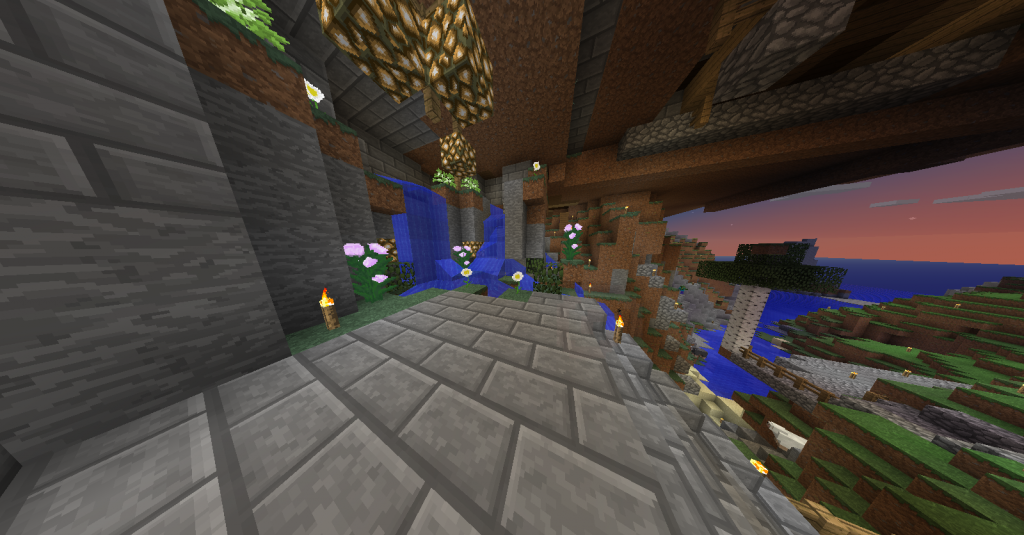 A glimpse at the beautiful FoxCraft Server 2014-02-20_195642