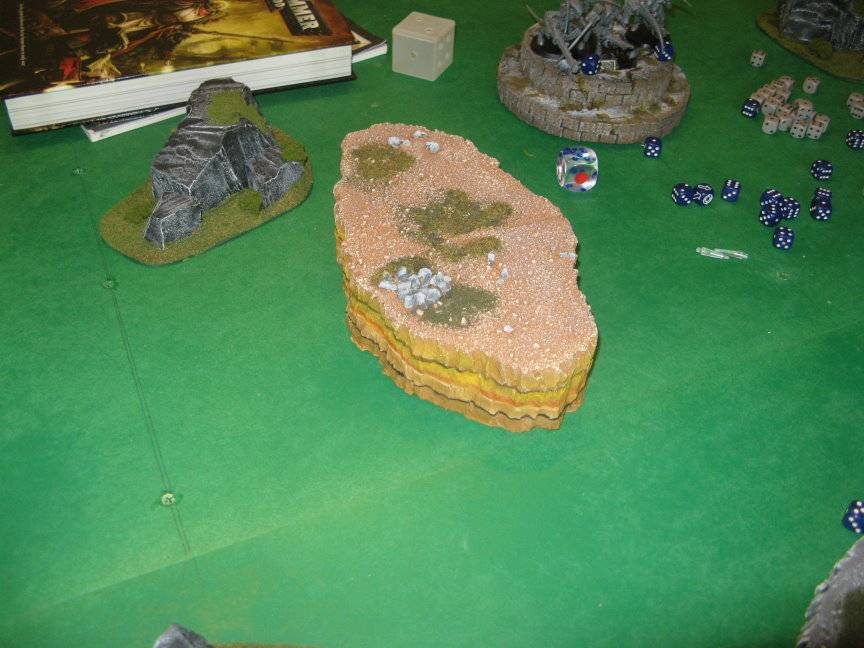 Terrain from the Bloody Claw Modhills11testrevision2