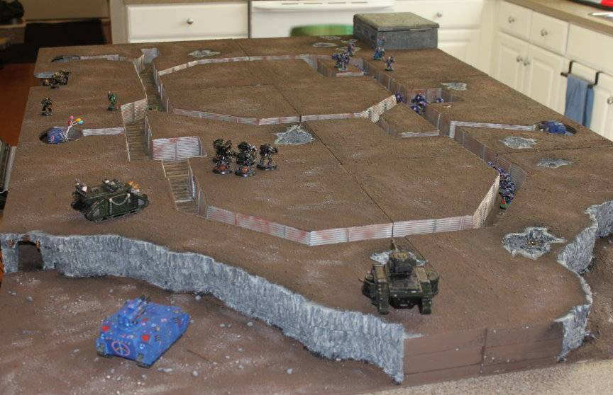 Terrain from the Bloody Claw - Page 2 TrenchBoardFinished19