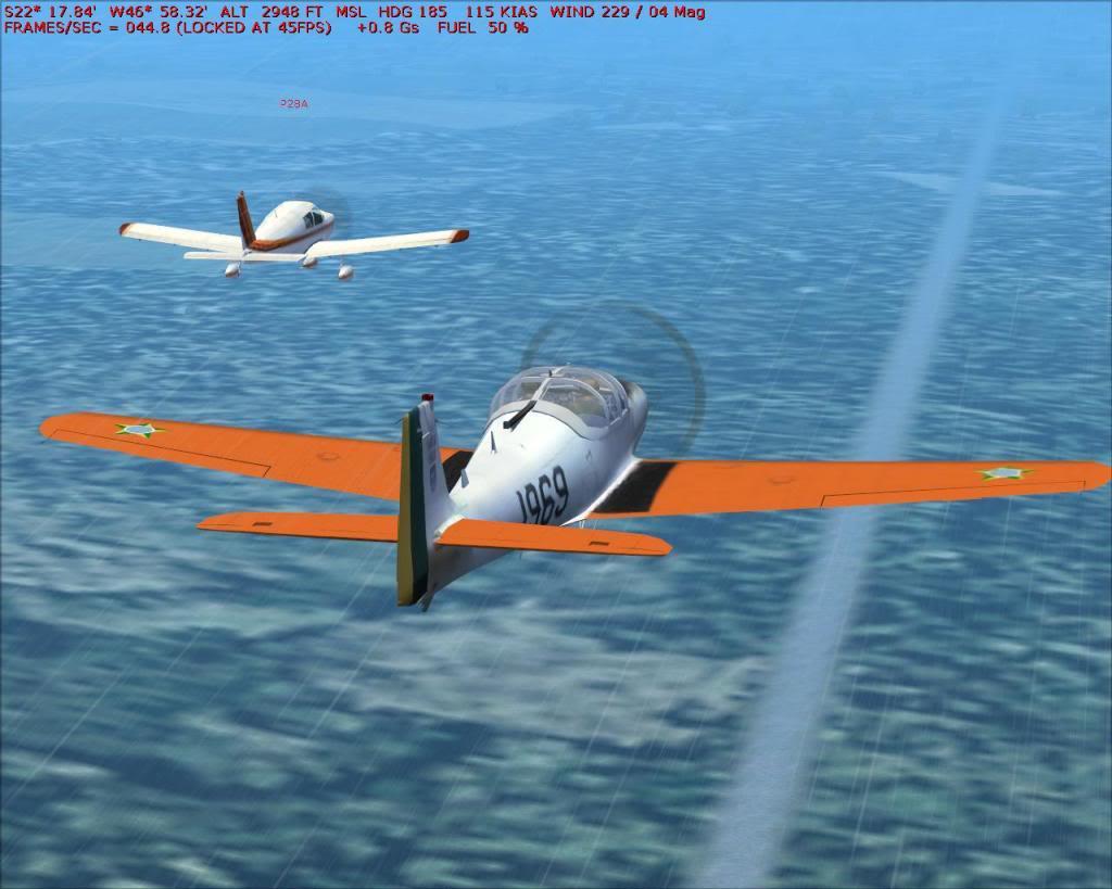 Voo formação T25 Fs92012-06-0818-29-24-14