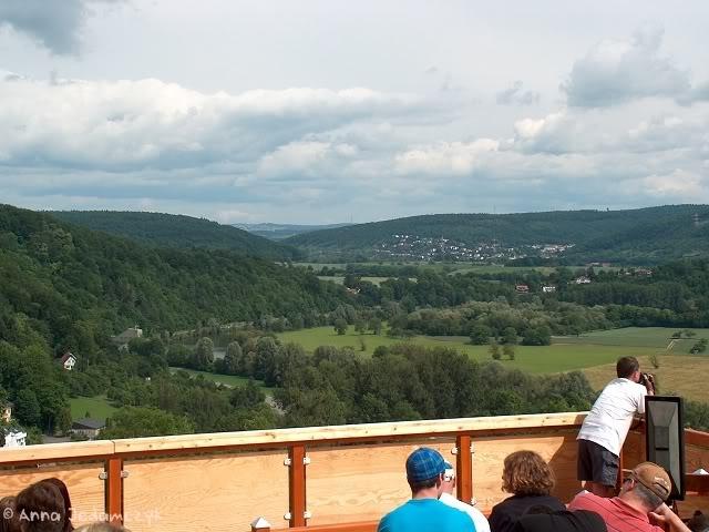 Burg Guttenberg und die Greifvogelwarte K-HPIM6892