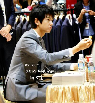 Xess Collection 2009 Im-joo-hwan_xess_signing_event