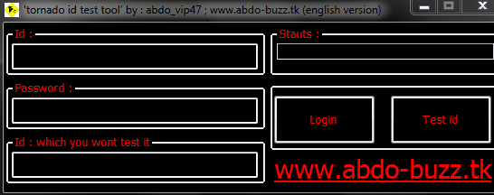 ▓▓▓Tornado Symbol ID Tester Tool+Huge password lists▓▓▓ B87413543f661f65892849a19f7ea4b6