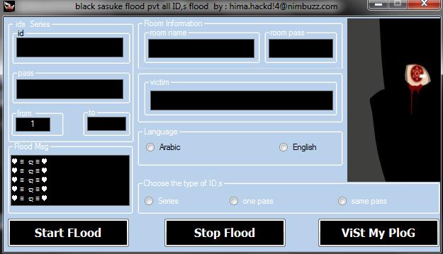 Cobra Room Freezer and Black Sasuke Pvt flood DC all in 1 Sasukefloodss