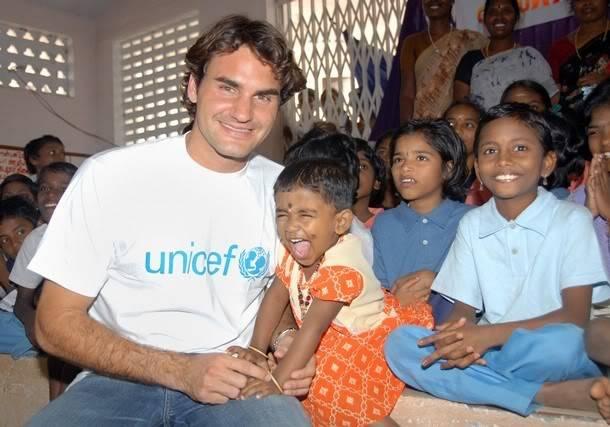 Roger y los niños 610x