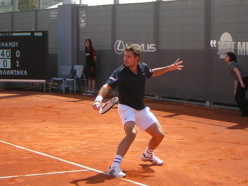 Stanislas Wawrinka y Roger Federer DSCN2785