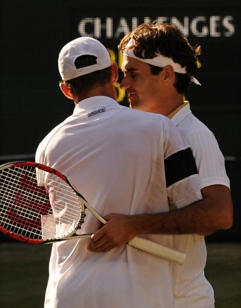 Roger Federer y Andy Roddick RogeryRoddick
