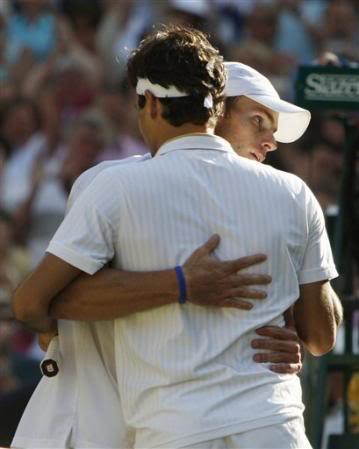 Roger Federer y Andy Roddick RogeryRoddick2