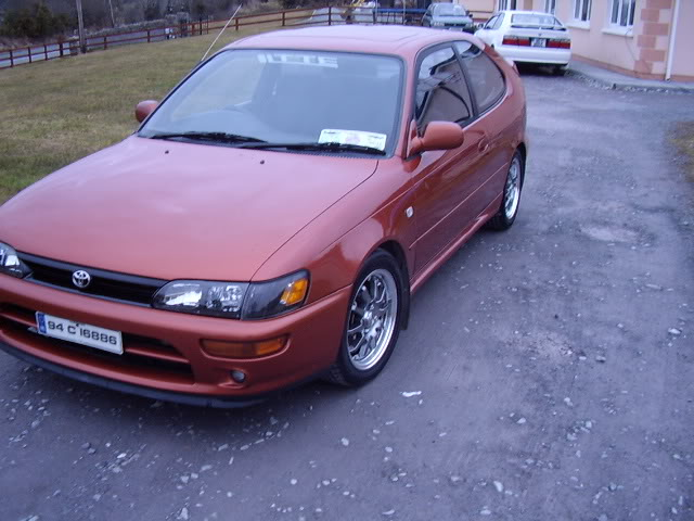 My corolla 1.3Turbo STA43563