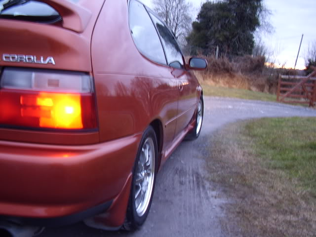 My corolla 1.3Turbo STA43575