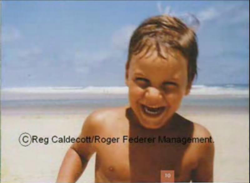 Roger de niño Youngfed