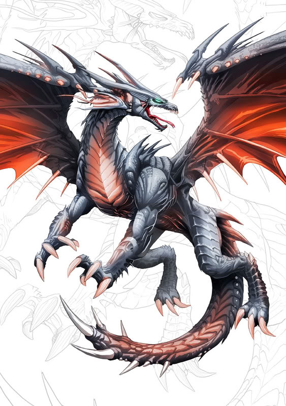 The fight for Darcia (Dragon RP) Dragon-metal