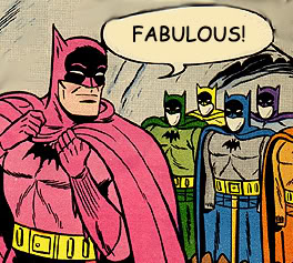 The Wizard Fnord and his Amazing Friends! Fabulous-batman