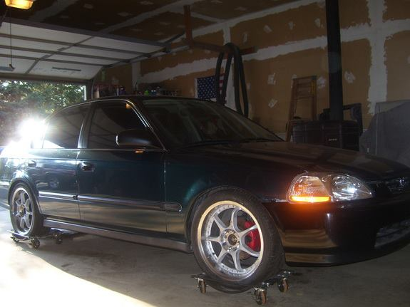 The Never ending Project: Rags to Riches Sedan. Old