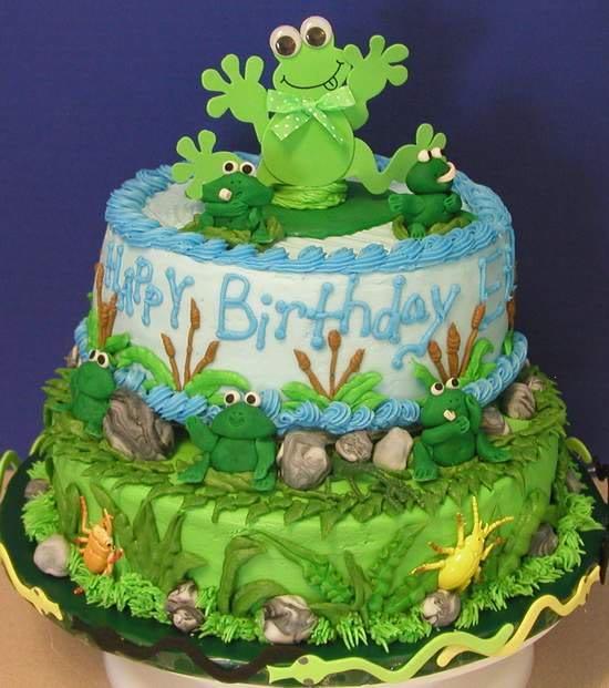 frog , с Днём рождения ! FrogBirthdayCake