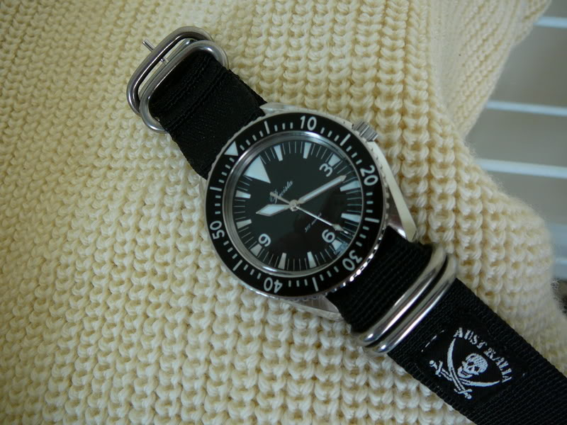 Quel bracelet pour la plongée ? Calico1016