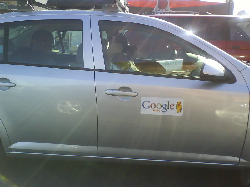 Avistamiento del Google Car en Mexicali DSC00326