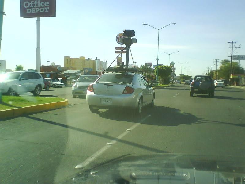 Avistamiento del Google Car en Mexicali DSC00327