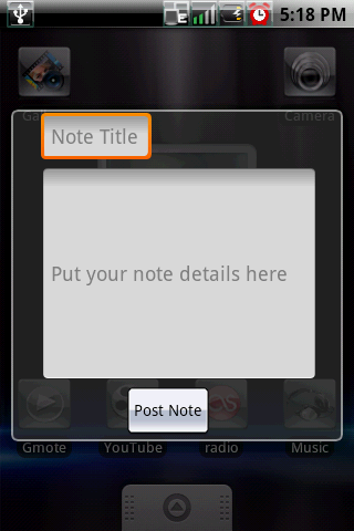[WIDGET] STICKY NOTE : N'oublier plus rien, coller vos post-it [Gratuit] Sticky1