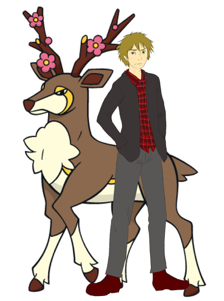 Chris the Human and Stannis the Sawsbuck [Fallarbor|Elite] Chrisandstannis_1