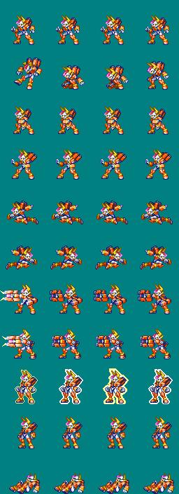 [XP]Megaman ZX/ZX Advent - Adaptación a Minkoff ModeloFX-Adaptado