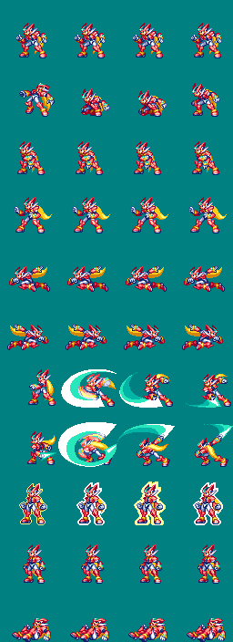 [XP]Megaman ZX/ZX Advent - Adaptación a Minkoff ModeloZX-Adaptado