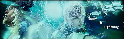 Final Fantasy Draws SnowandLightningSignature