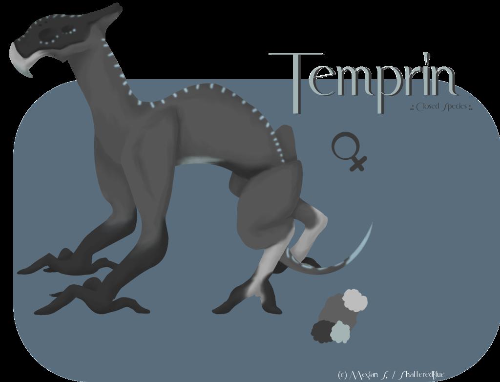 .:Temprin:. CreatureSketchFemaleCWPI-1