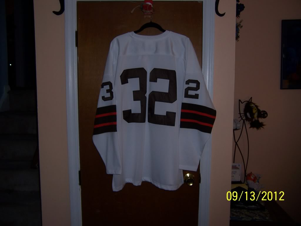 1964 Jim Brown Throwback - Lucky Find or Just Another Jersey 158885f4