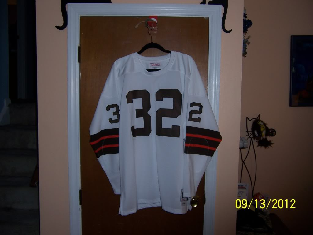 1964 Jim Brown Throwback - Lucky Find or Just Another Jersey 36212c88