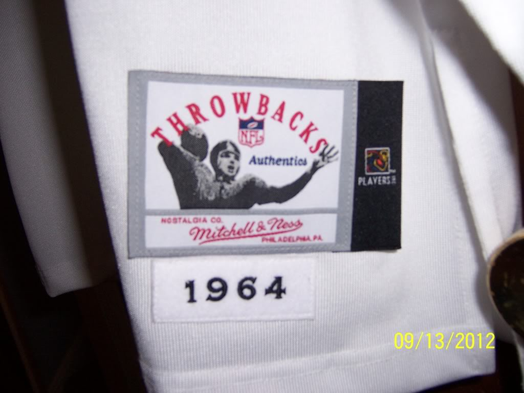 1964 Jim Brown Throwback - Lucky Find or Just Another Jersey Ec44f552