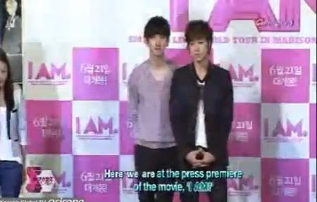 """PROGRAMA """"Showbiz Korea"""" - Pelicula I AM (03/07/2012) Gtgggg"""