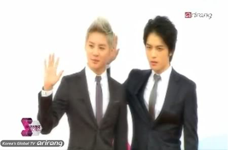 "PROGRAMA ""Showbiz Korea"" - 2012 JYJ Membership Week (11/07/2012) Trgggg"
