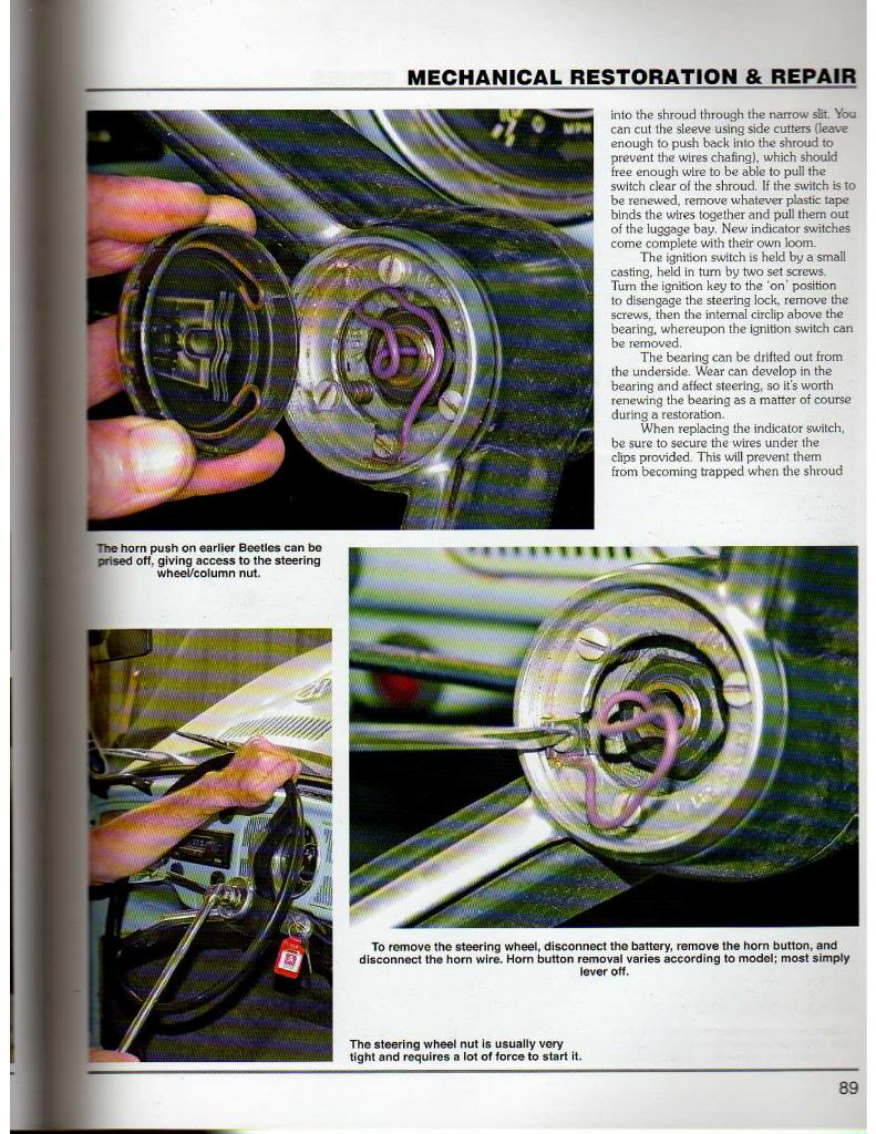 Book How To Restore A Volkswagen Beetle By Jim Tyler 1960 Vw Horn Wiring Pages 1