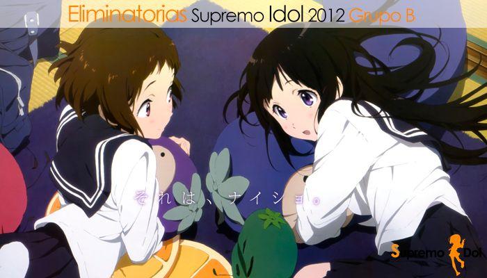 Eliminatorias a Supremo Idol 2012 Grupo B