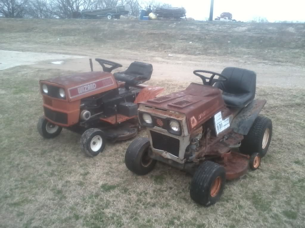 Might Get This Wizard Lawn Tractor 0112131626-00