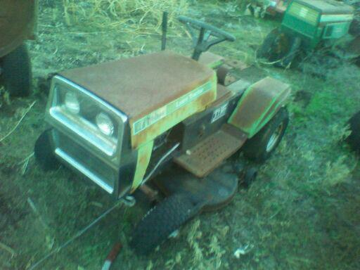 Might Get This Wizard Lawn Tractor 207577_381791211903635_362797218_n