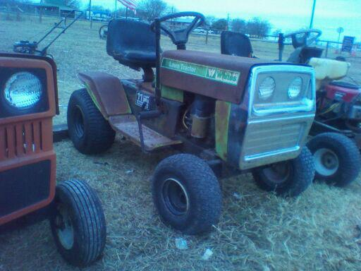 Might Get This Wizard Lawn Tractor 557040_398097736939649_417872075_n