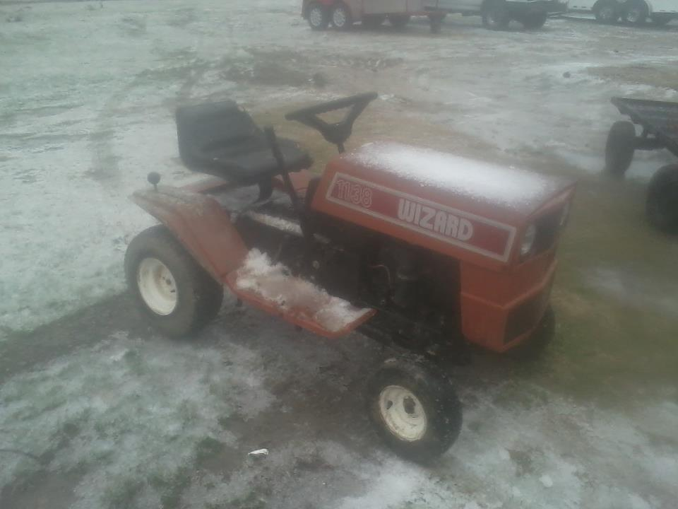 Might Get This Wizard Lawn Tractor 75037_486041274774728_2138716704_n